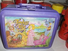 Timeless Tales`1989`From Hallmark Cards-Plastic Lunchbox>No Cracks-:>Free To US