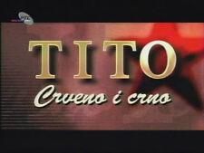 NOVO- DVD KOLEKCIJA - TITO CRVENO I CRNO Srbija Hrvatska Jugoslavija Bosna SFRJ