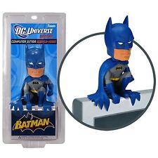 BATMAN Computer Sitter Bobblehead Wacky Wobbler Bobble Head Bat Caped Blue 2109