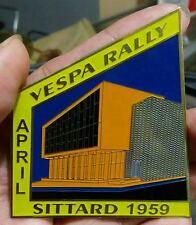 LAMBRETTA Vespa RALLY Placca Badge Plakette SITTARD 1959 GS SALE EMBLEM