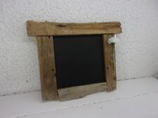Driftwood Chalkboard Rustic Unique Wedding Noticeboard Memo Blackboard Scotland