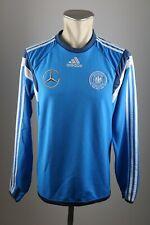 Deutschland Trikot Gr. S Adidas Training Shirt blau 2016 EM DFB Mercedes Benz