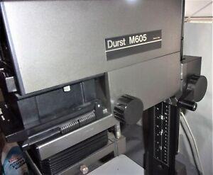 Ancien agrandisseur photos DURST M605 Objectif DURST NEONON 1.2.8/50