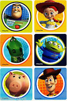 Toy Story Stickers x 6 - Disney - Birthday Party Supplies & Favours Loot Classic
