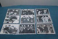THE BEATLES VINTAGE CARD LOT 1964 BEATLES B & W CARDS/ 3rd SERIES PSA USA