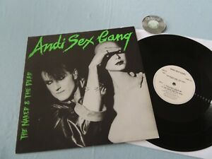 """12"""" Maxi The Naked & The Dead Andi Sex Gang 1986 UK   EX"""