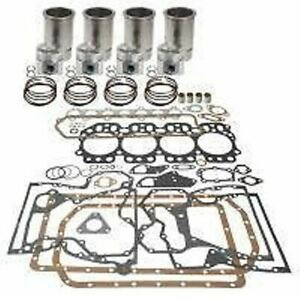 Made to Fit ALLIS CHALMERS 4 CYL.226 CID GAS ENGINE OVERHAUL KIT WD45