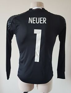 Germany 2016 - 2017 Goalkeeper football Adidas long sleeve shirt #1 Neuer