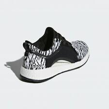 adidas PureBoost X 2.0 24cm/US7 zebra animal print black and white