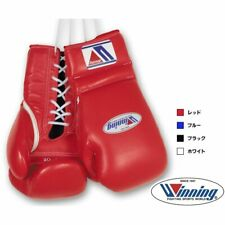 Winning Boxing gloves Professional Lace up Basic color 12oz - 16oz JPN Pre-order