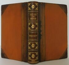 WALT WHITMAN Leaves of Grass SIGNED & INSCRIBED CENTENNIAL EDITION