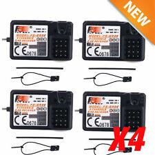 4Pcs Flysky FS-GR3E AFHDS 2.4G 3CH Receiver for GT3B GT2 GT3C Transmitter US TO