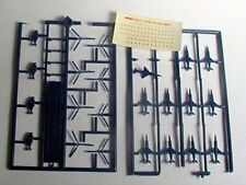 Extra jets/helicopters for 1/700 kits &decals Old,but unbuilt,missing 1 plane. .