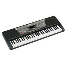 61 Keys 110V Electronic Piano Electric Organ Keyboard- Black Us Plug 100