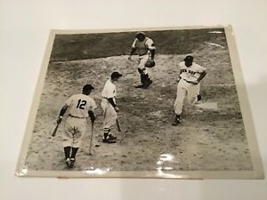 Historic Original Wire Photo Ted Williams 1946 All Star game HR Boston Red Sox