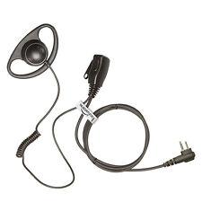 forma de 'd' Auricular / para Hytera / HYT Radio: TC300,TC320,TC500,TC518