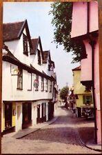Norwich, Elm Hill Craft Shop Norfolk 1967 Cotman Color Jarrold Vintage Postcard