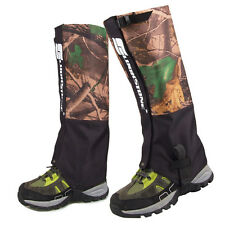 Camo Gaiters Portable Outdoor Hiking Hunting Waterproof Protective Legging Cover