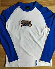 CHAMPION Philadelphia 76ers Mens NBA Sweatshirt Long Sleeve Jersey Basketball