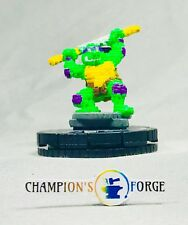 Heroclix TMNT Unplugged Series 4 Donatello #004 Common w/ Card