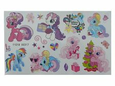 KIDS Temporary Tattoo MY LITTLE PONY No3 Great for Party Bags 9,5 x 16cm