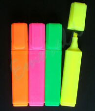 4 Pack of Quality Highlighter Pens - 4 Colours