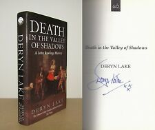 Deryn Lake - Death in the Valley of Shadows - Signed - 1st/1st