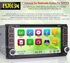 "AUTORADIO 7"" Toyota Rav 4 Corolla Terios Prado Land cruiser Navigatore Bluetooth"