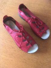 Hotter Ladies Sandal In Red Size Uk 5 Eu38 Model Tahaiti