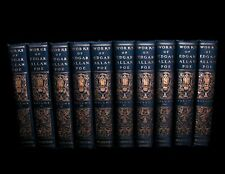 The Works of EDGAR ALLAN POE ~ In 10 Volumes ~ 💀 Illustrated