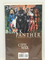 Black Panther A Marvel Comics Event Civil War #24 Comic Book