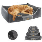 Waterproof Extra Large Dog Bed Heavy Duty Orthopedic Pillow Bed Soft Pet Lounger