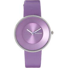 Ladies LAMBRETTA 'Cielo' Purple Leather Watch rrp £58 - New