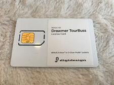 Avid DigiDesign Drawmer TourBuss Plug In iLok Activation Card No Transfer Fee