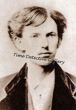 "John Henry ""Doc"" Holliday, 20 years old - 1872 - Historic Photo Print"