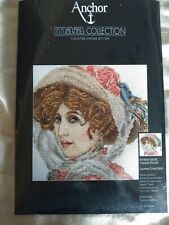 Anchor Maia Victorian Portrait counted cross stitch kit, sealed