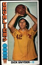 DICK SNYDER CLEVELAND CAVALIERS #2 SP 76-77 1976-77 TOPPS BASKETBALL SET BREAK