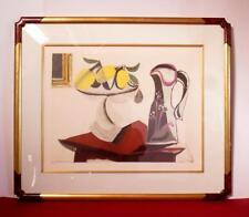 Nature Morte Au Citron Et A La Cruche Collection Marina Picasso Ltd Ed Litho