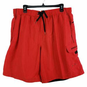 Speedo Men's Swim Shorts Size XL Orange
