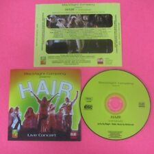 CD BLACKNIGHT COMPANY Hair Italy AVVENIMENTI A 8616999 no lp mc dvd (CS24)