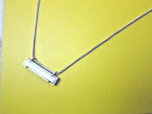 Lovely! KENDRA SCOTT full PKG! White Howlite? NECKLACE Box-Bow-Shop Bag Orig $68