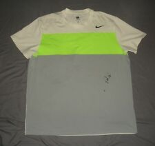 2012 PowerShares Series Pete Sampras Match Used Worn Nike Dri-Fit Signed Shirt