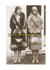"""mm58- daughters King & Queen Spain-Maria Cristina & Beatrice-Royalty photo 6x4"""""""