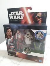 Star Wars The Force Awakens Action Figure Poe Dameron Epic Battles Armor Up