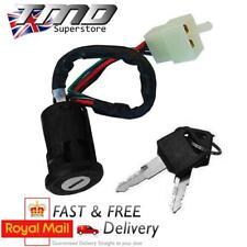 Universal Motorcycle Motorbike 4 Wire Ignition Barrel Key Switch Quad On/Off UK