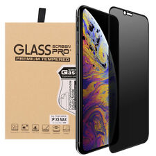 For iPhone XS Max Privacy Anti-Spy 9H Full Cover Tempered Glass Screen Protector
