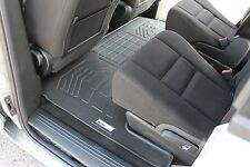 Second Row Floor Mat in Black for 2008 - 2017 Dodge Grand Caravan