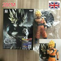 20CM Goku Super SaiYan Dragon Ball Z Awakening Gohan Father Figure Toys