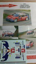 DECALS 1/43 REF997 CITROEN XSARA WRC SEBASTIEN LOEB RALLYE TOUR DE CORSE 2005