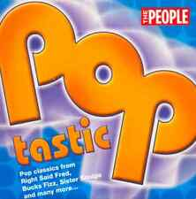 POPTASTIC - UK PROMO CD: BUCKS FIZZ, ASWAD, STARSHIP, RIGHT SAID FRED, PILOT ++
